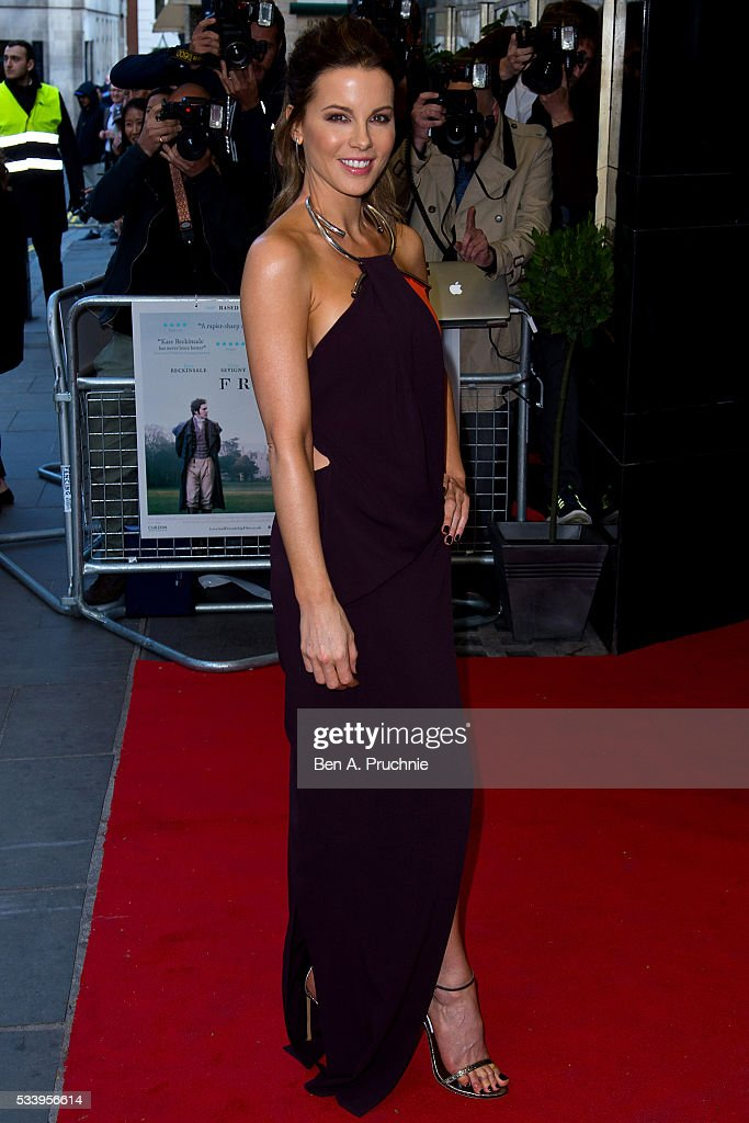 <a gi-track='captionPersonalityLinkClicked' href=/galleries/search?phrase=Kate+Beckinsale&family=editorial&specificpeople=202911 ng-click='$event.stopPropagation()'>Kate Beckinsale</a> attends the UK premiere 'Love And Friendship' at The Curzon Mayfair on May 24, 2016 in London, England.