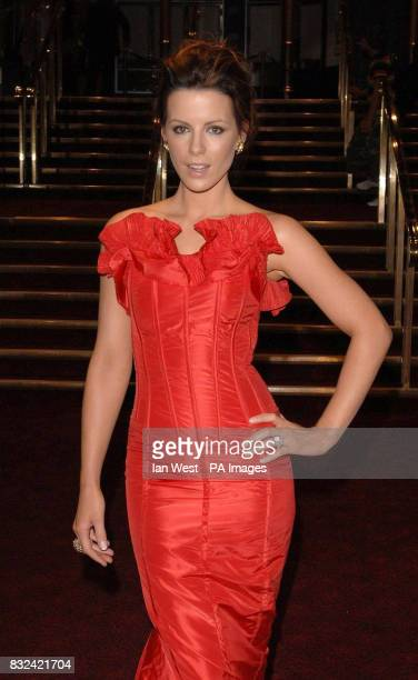 Kate Beckinsale attends the UK premiere of Click at the Empire Cinema Leicester Square central London