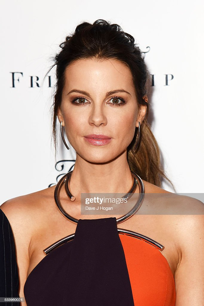 Kate Beckinsale attends the UK premiere of 'Love and Friendship' at The Curzon Mayfair on May 24, 2016 in London, England.