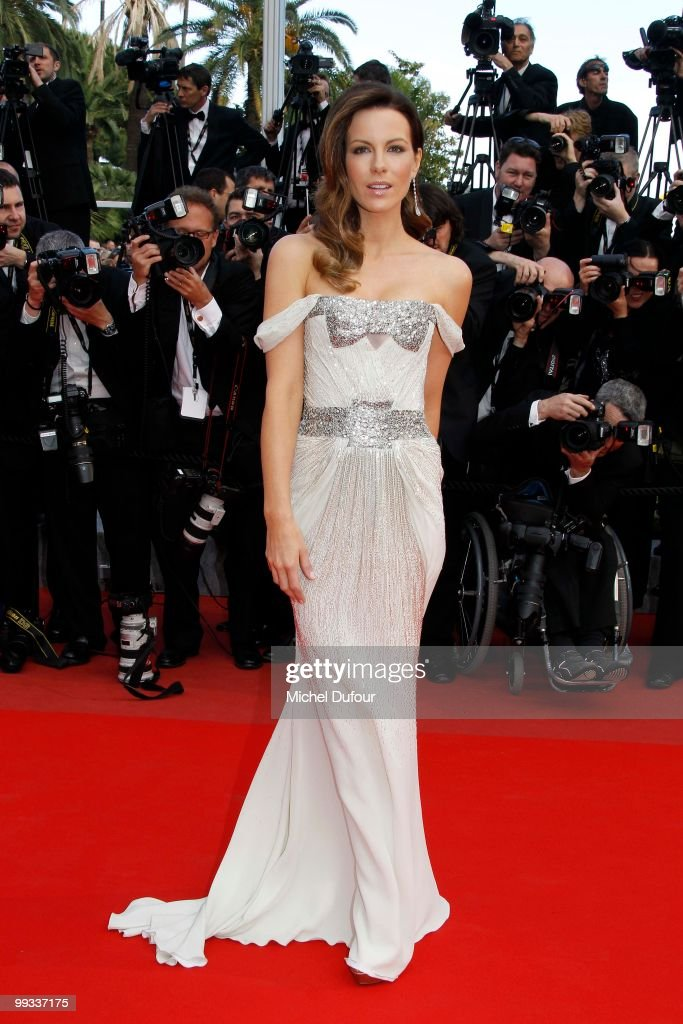 Kate Beckinsale attends the 'Wall IL Gattopardo' Premiere at the Palais des Festivals during the 63rd Annual Cannes Film Festiva on May 14, 2010 in Cannes, France.