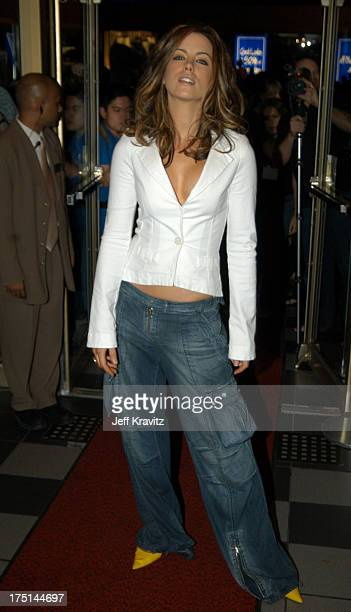 Kate Beckinsale during 2003 Toronto International Film Festival 'Underworld' Premiere at Uptown Theater in Toronto Ontario Canada