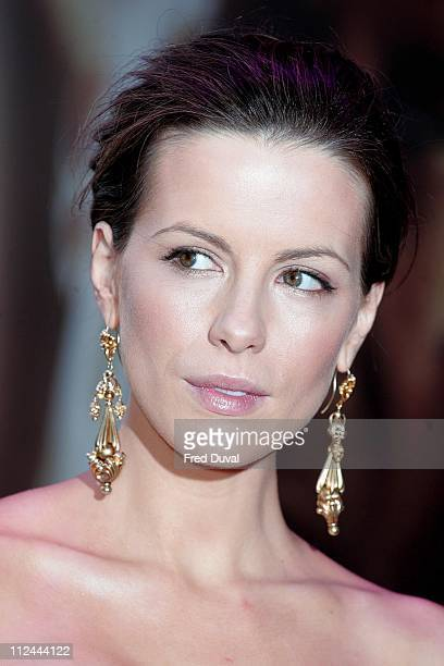 Kate Beckinsale during 'Live Free or Die Hard' London Premiere Red Carpet at Empire Leicester Square in London Great Britain