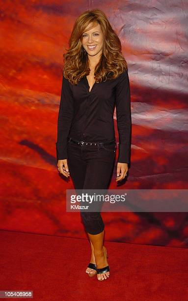 Kate Beckinsale during MTV Movie Awards 2004 Red Carpet at Sony Pictures Studios in Culver City California United States