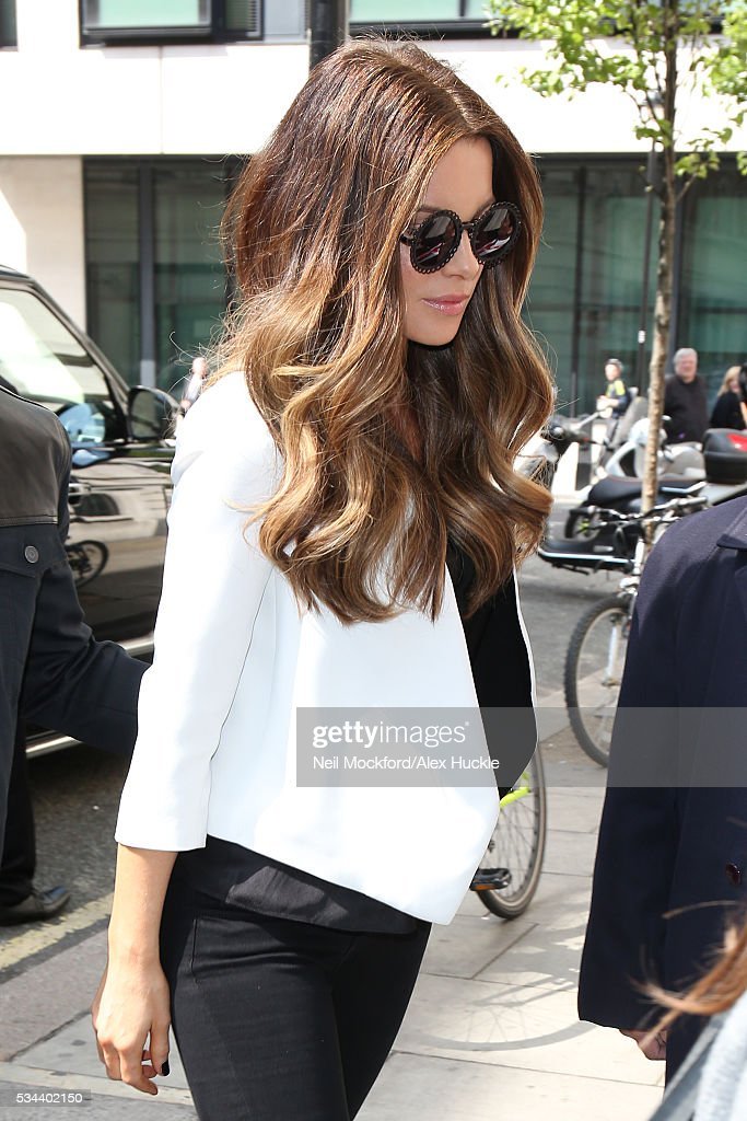 <a gi-track='captionPersonalityLinkClicked' href=/galleries/search?phrase=Kate+Beckinsale&family=editorial&specificpeople=202911 ng-click='$event.stopPropagation()'>Kate Beckinsale</a> seen at BBC Radio 2 on May 26, 2016 in London, England.