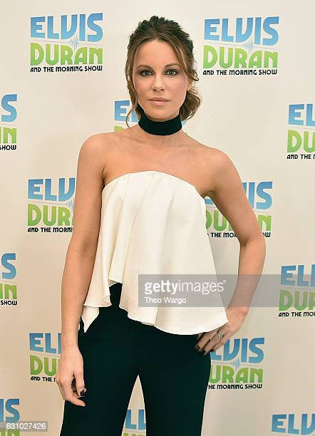 Kate Beckinsale Visits 'The Elvis Duran Z100 Morning Show' at Z100 Studio on January 4 2017 in New York City