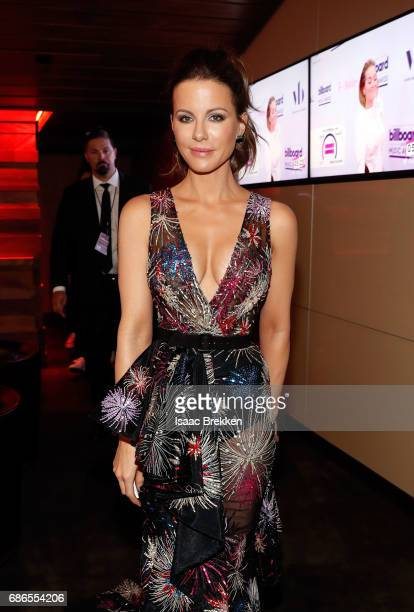 Kate Beckinsale visits the Virginia Black VIP lounge at the 2017 Billboard Music Awards at TMobile Arena on May 21 2017 in Las Vegas Nevada