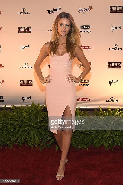 Kate Bock attends the Sports Illustrated 2015 Swimsuit Takes Over Nashville With Kings of Leon event on February 11 2015 in Nashville Tennessee