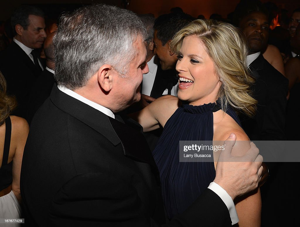 Kate Bolduan (R) attends the TIME/CNN/PEOPLE/FORTUNE Pre-Dinner Cocktail Reception at Washington Hilton on April 27, 2013 in Washington, DC.