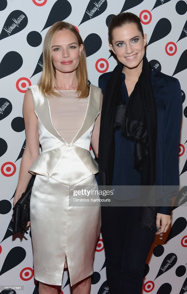<a gi-track='captionPersonalityLinkClicked' href=/galleries/search?phrase=Kate+Bosworth&family=editorial&specificpeople=201616 ng-click='$event.stopPropagation()'>Kate Bosworth</a> and <a gi-track='captionPersonalityLinkClicked' href=/galleries/search?phrase=Allison+Williams+-+Actress&family=editorial&specificpeople=594198 ng-click='$event.stopPropagation()'>Allison Williams</a> attend the Target + Neiman Marcus Holiday Collection launch event on November 28, 2012 in New York City.
