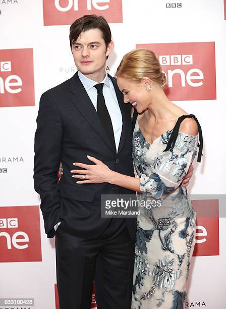 Kate Bosworth and Sam Riley attend the photocall of the world premiere screening of BBC One drama SSGB on January 30 2017 in London United Kingdom