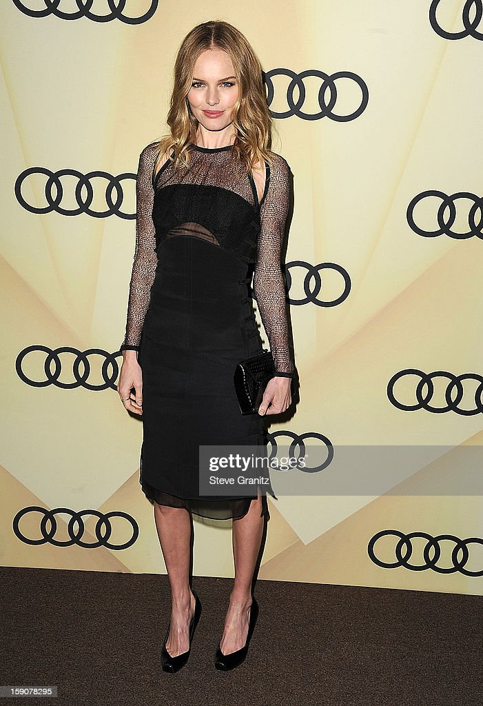 <a gi-track='captionPersonalityLinkClicked' href=/galleries/search?phrase=Kate+Bosworth&family=editorial&specificpeople=201616 ng-click='$event.stopPropagation()'>Kate Bosworth</a> arrives at the Audi Golden Globe 2013 Kick Off Cocktail Party at Cecconi's Restaurant on January 6, 2013 in Los Angeles, California.