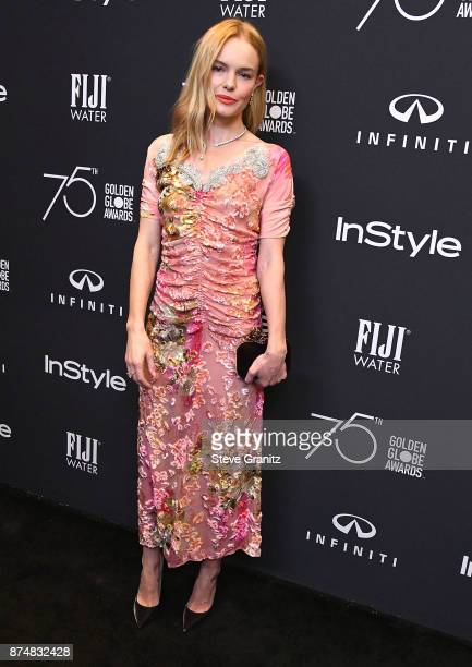 Kate Bosworth arrives at the Hollywood Foreign Press Association And InStyle Celebrate The 75th Anniversary Of The Golden Globe Awards at Catch LA on...