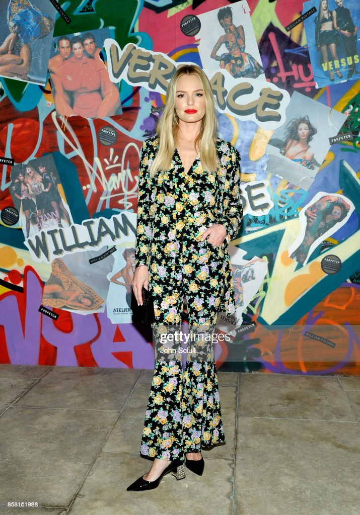 Kate Bosworth at Farfetch and William Vintage Celebrate Gianni Versace Archive hosted by Elizabeth Stewart and William Banks-Blaney on October 5, 2017 in Los Angeles, California.
