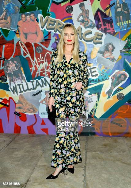 Kate Bosworth at Farfetch and William Vintage Celebrate Gianni Versace Archive hosted by Elizabeth Stewart and William BanksBlaney on October 5 2017...