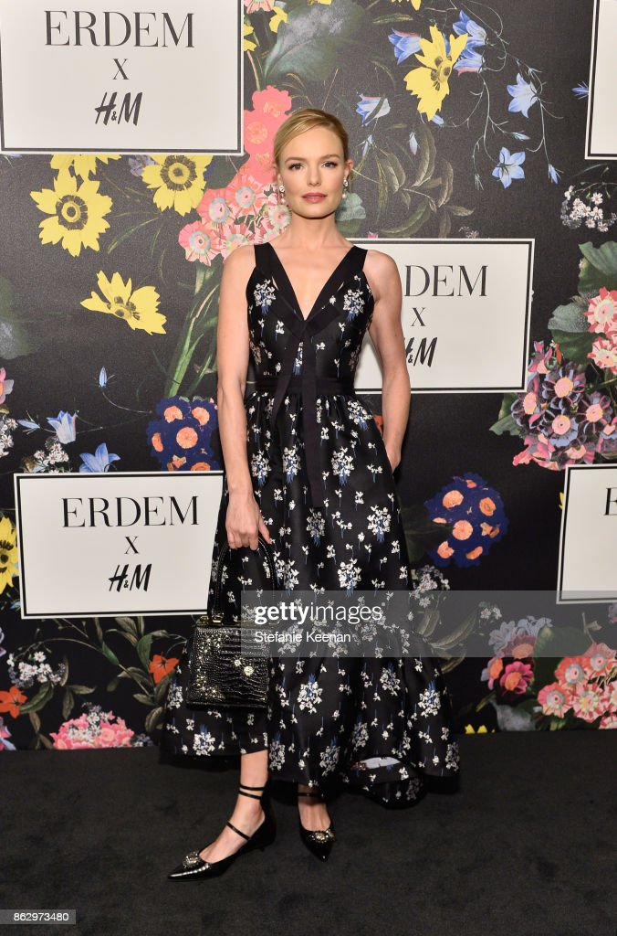 Kate Bosworth at H&M x ERDEM Runway Show & Party at The Ebell Club of Los Angeles on October 18, 2017 in Los Angeles, California.
