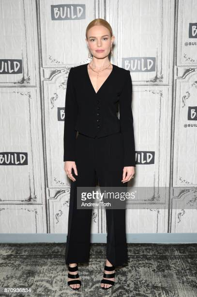 Kate Bosworth attends Build Presents the cast of 'The Long Road Home' at Build Studio on November 6 2017 in New York City