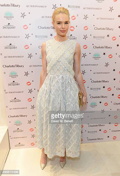 Kate Bosworth attends Charlotte Tilbury's naughty Christmas party celebrating the launch of Charlotte's new flagship beauty boutique in Covent Garden...