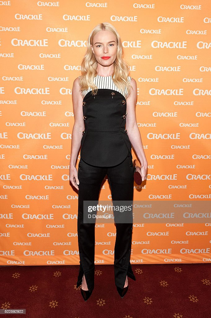 Kate Bosworth attends Crackle's 2016 Upfront Presentation at New York City Center on April 20 2016 in New York City
