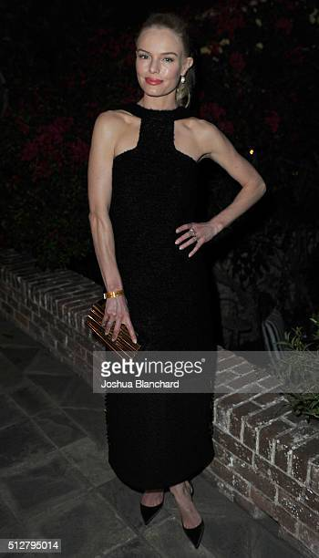 Kate Bosworth attends Dana Brunetti's Pre Oscar party hosted by Steve Shaw at the private residence of Jonas Tahlin CEO of Absolut Elyx on February...