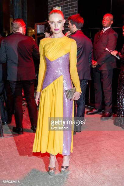 Kate Bosworth attends 'Rei Kawakubo/Comme des Garcons Art Of The InBetween' Costume Institute Gala After Party at the Standard Hotel on May 1 2017 in...