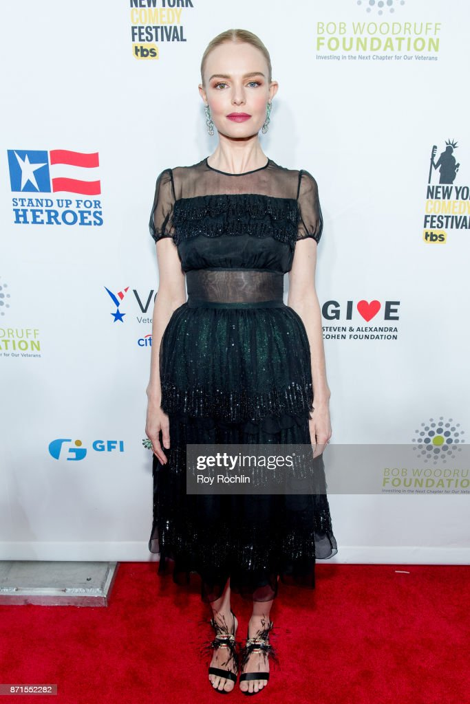 Kate Bosworth attends the 11th Annual Stand Up for Heroes at The Theater at Madison Square Garden on November 7, 2017 in New York City.