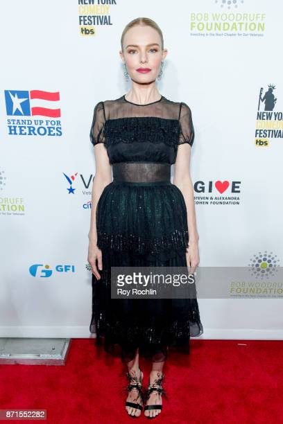 Kate Bosworth attends the 11th Annual Stand Up for Heroes at The Theater at Madison Square Garden on November 7 2017 in New York City