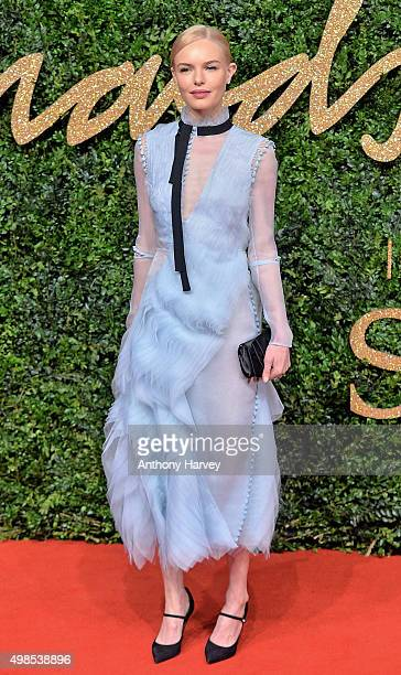 Kate Bosworth attends the British Fashion Awards 2015 at London Coliseum on November 23 2015 in London England