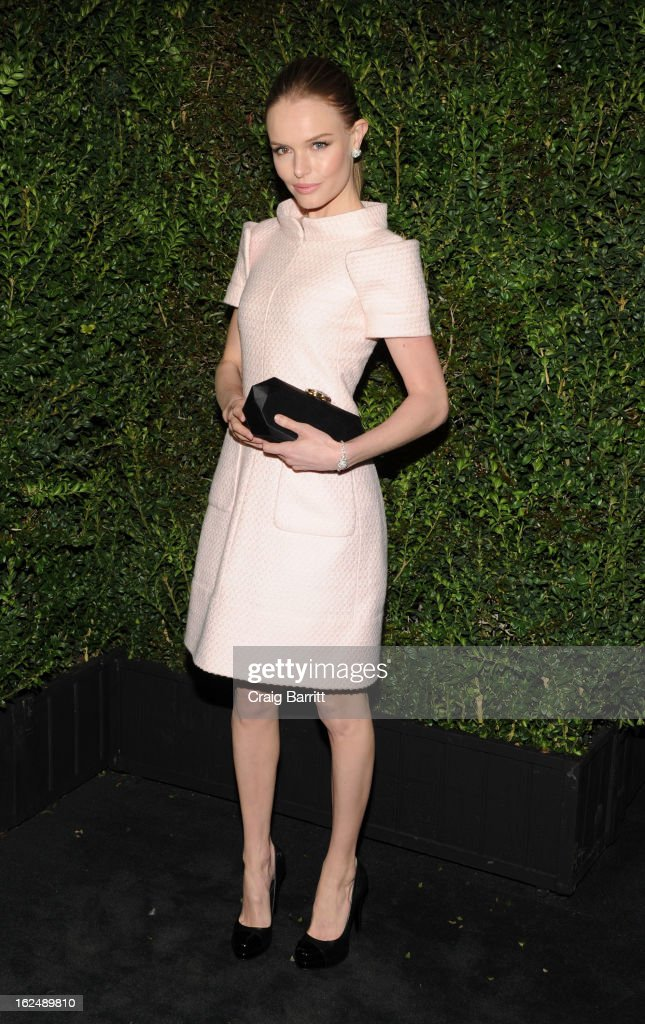 <a gi-track='captionPersonalityLinkClicked' href=/galleries/search?phrase=Kate+Bosworth&family=editorial&specificpeople=201616 ng-click='$event.stopPropagation()'>Kate Bosworth</a> attends the Chanel Pre-Oscar dinner at Madeo Restaurant on February 23, 2013 in Los Angeles, California.