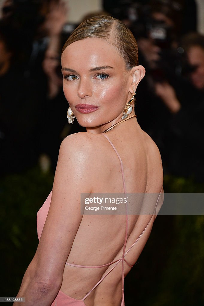Kate Bosworth attends the 'Charles James: Beyond Fashion' Costume Institute Gala at the Metropolitan Museum of Art on May 5, 2014 in New York City.