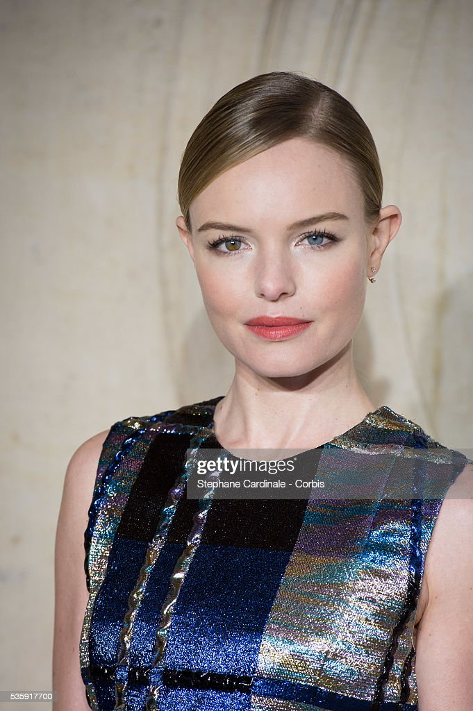 Kate Bosworth attends the Christian Dior show as part of Paris Fashion Week Haute Couture Spring/Summer 2014, in Paris.