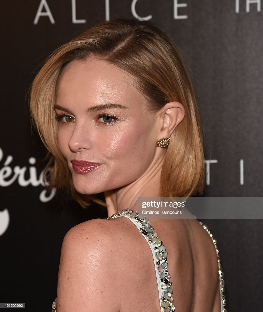 Kate Bosworth attends The Cinema Society with Montblanc and Dom Perignon screening of Sony Pictures Classics' 'Still Alice' at Landmark's Sunshine...