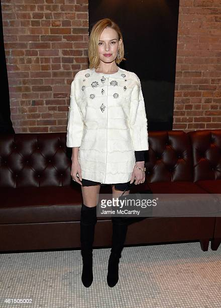 Kate Bosworth attends The Cinema Society with Montblanc and Dom Perignon screening of Sony Pictures Classics' 'Still Alice' after party at White...