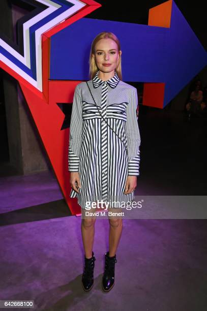 Kate Bosworth attends the House of Holland show during the London Fashion Week February 2017 collections on February 18 2017 in London England