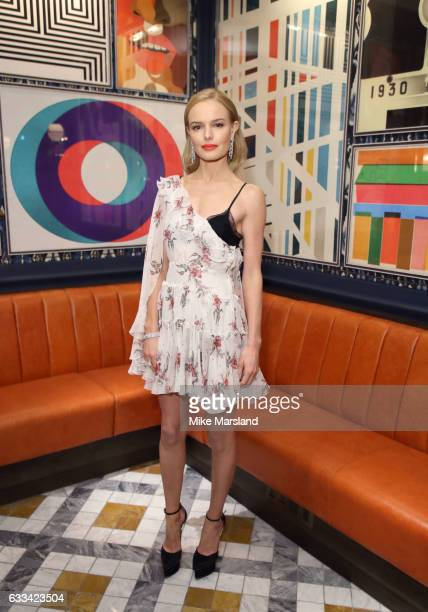 Kate Bosworth attends the InStyle EE Rising Star Party at the Ivy Soho Brasserie on February 1 2017 in London England