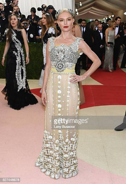 Kate Bosworth attends the 'Manus x Machina Fashion In An Age Of Technology' Costume Institute Gala at Metropolitan Museum of Art on May 2 2016 in New...
