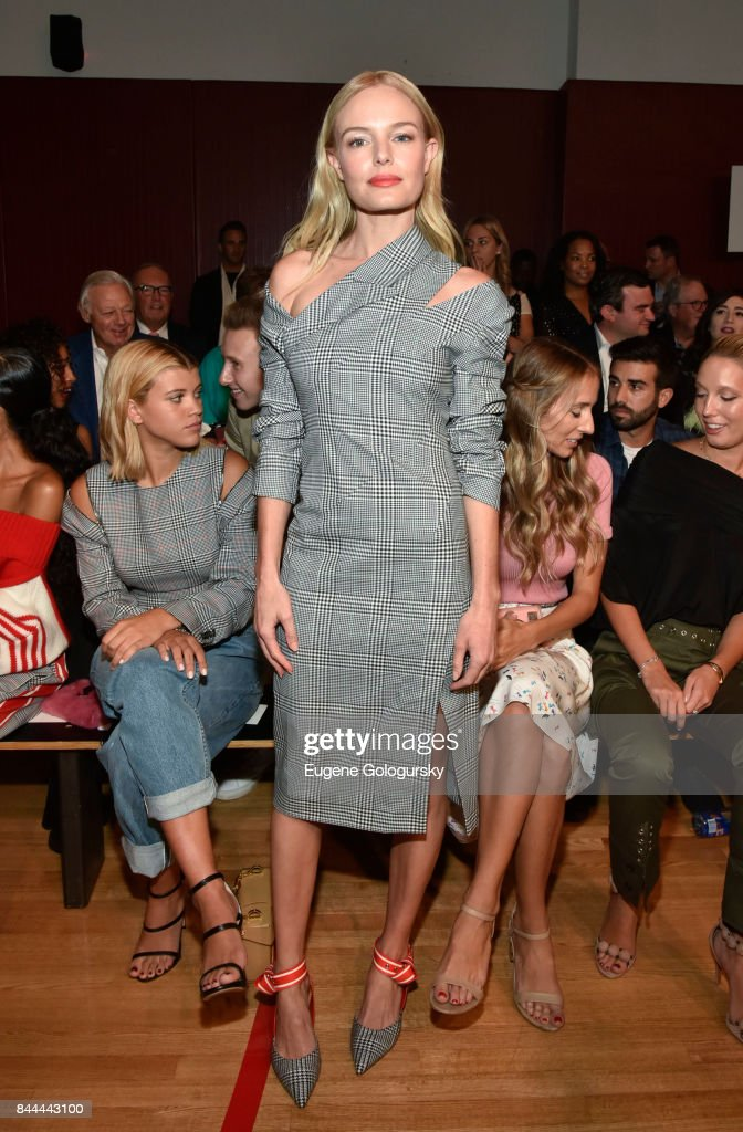 Kate Bosworth attends the Monse fashion show during New York Fashion Week: The Shows on September 8, 2017 in New York City.