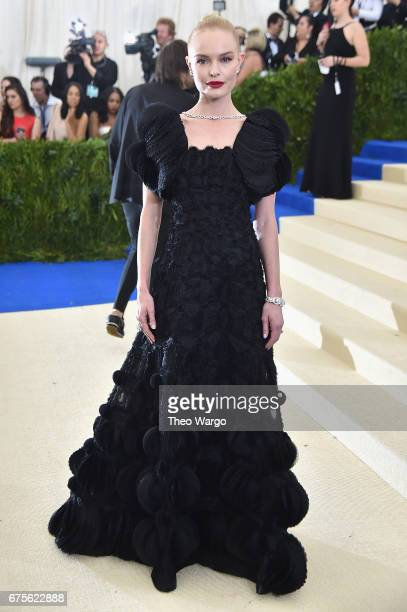 Kate Bosworth attends the 'Rei Kawakubo/Comme des Garcons Art Of The InBetween' Costume Institute Gala at Metropolitan Museum of Art on May 1 2017 in...