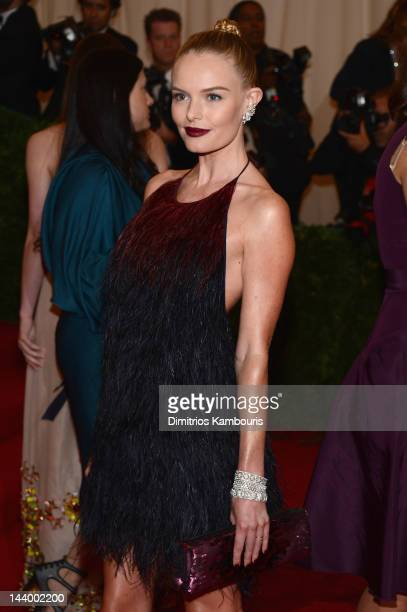 Kate Bosworth attends the 'Schiaparelli And Prada Impossible Conversations' Costume Institute Gala at the Metropolitan Museum of Art on May 7 2012 in...