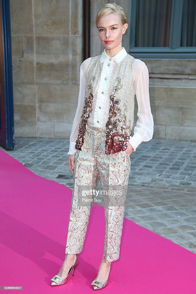 Schiaparelli : Outside Arrivals - Paris Fashion Week - Haute Couture Spirng Summer 2016