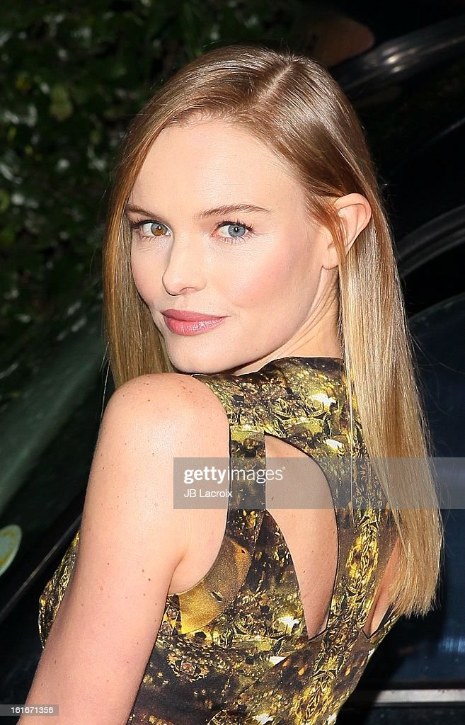 Kate Bosworth attends the Topshop Topman LA Opening Party held at Cecconi's Restaurant on February 13, 2013 in Los Angeles, California.