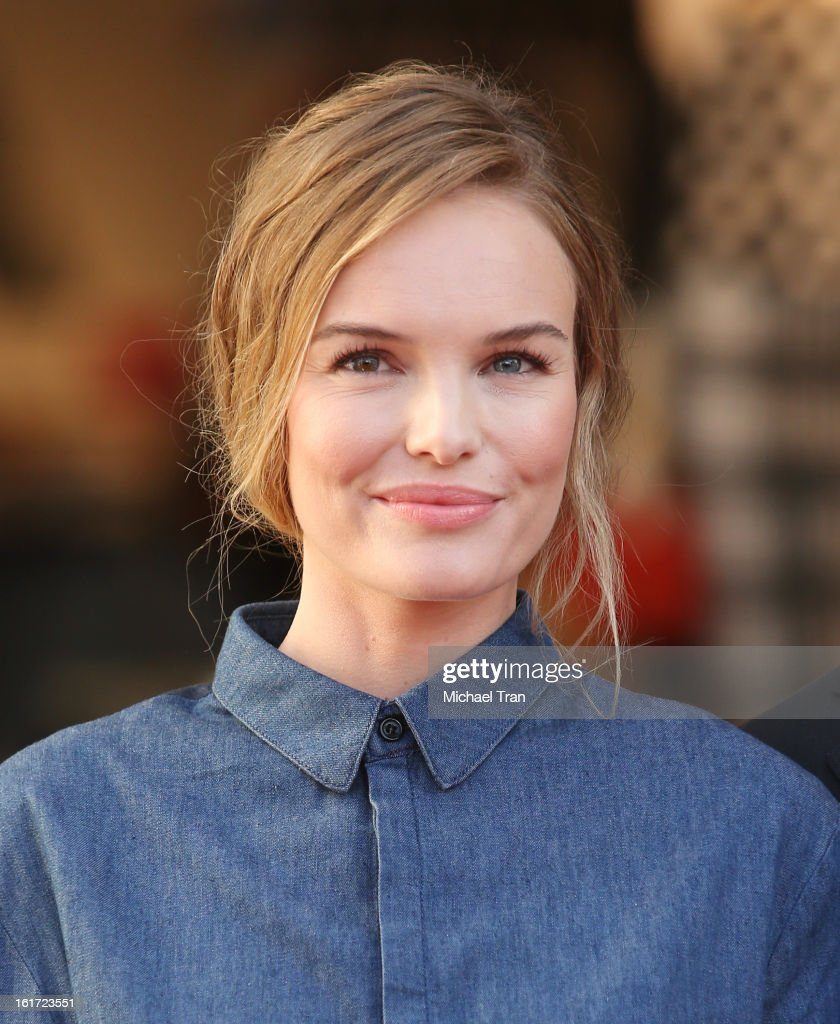 Kate Bosworth attends Topshop Topman LA Grand Opening at The Grove on February 14, 2013 in Los Angeles, California.