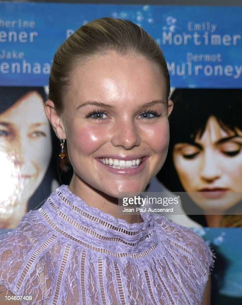 Kate Bosworth during 2002 IFP/West Los Angeles Film Festival Opening Night at Arclight Cinerama in Hollywood California United States