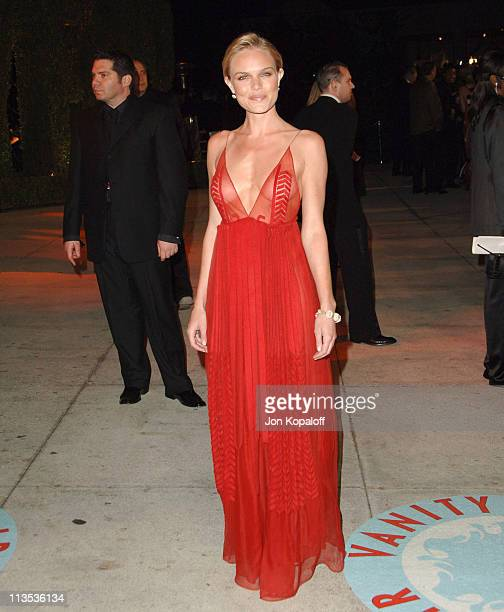 Kate Bosworth during 2006 Vanity Fair Oscar Party at Morton's in West Hollywood California United States