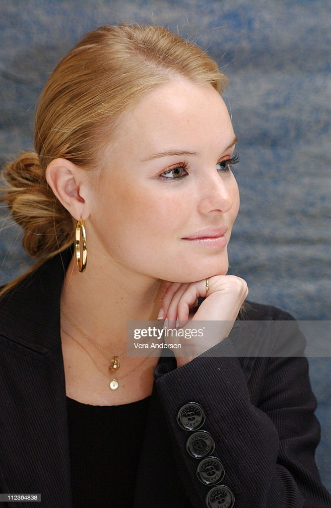 Kate Bosworth during 'Beyond the Sea' Press Conference with Kevin Spacey and Kate Bosworth at Four Seasons Hotel in Beverly Hills California United...