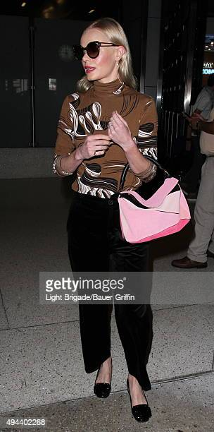 Kate Bosworth is seen at LAX Airport in Los Angeles Ca on October 26 2015 in Los Angeles California