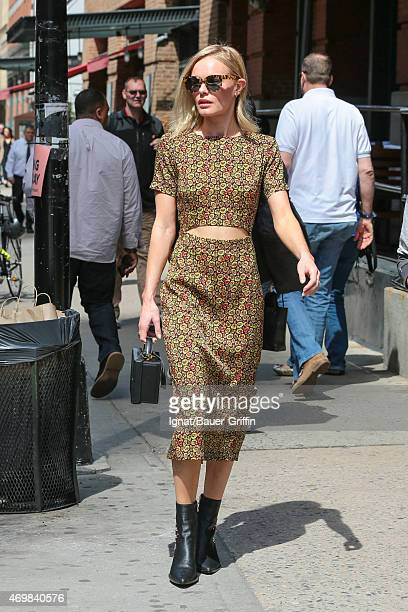 Kate Bosworth is seen on April 15 2015 in New York City