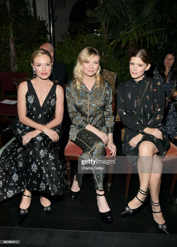 H&M x ERDEM Runway Show & Party - Front Row