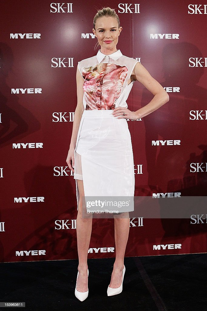 <a gi-track='captionPersonalityLinkClicked' href=/galleries/search?phrase=Kate+Bosworth&family=editorial&specificpeople=201616 ng-click='$event.stopPropagation()'>Kate Bosworth</a> poses during an SKII promotional event at Myer Sydney City on October 12, 2012 in Sydney, Australia.