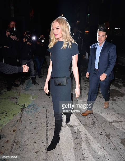 Kate Bosworth seen at ArtBean for a Who What Wear event by Target on January 27 2016 in New York City