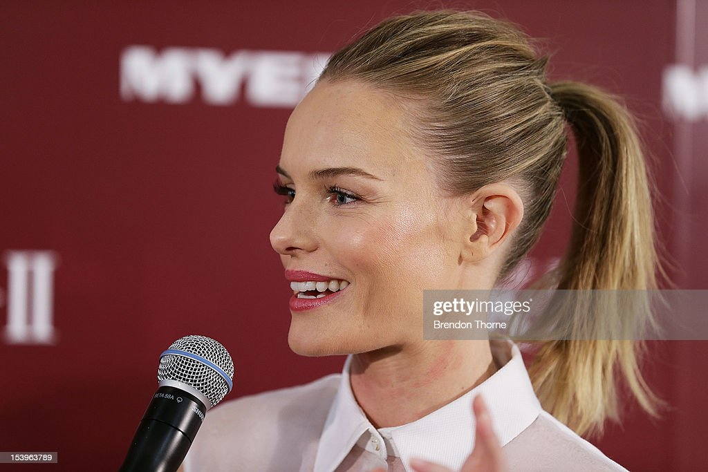 <a gi-track='captionPersonalityLinkClicked' href=/galleries/search?phrase=Kate+Bosworth&family=editorial&specificpeople=201616 ng-click='$event.stopPropagation()'>Kate Bosworth</a> speaks during an SKII promotional event at Myer Sydney City on October 12, 2012 in Sydney, Australia.